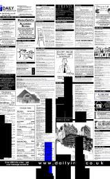 Daily Info printed sheet Fri 19/1 2001