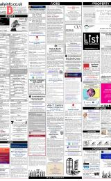 Daily Info printed sheet Tue 30/1 2018