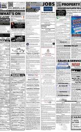 Daily Info printed sheet Sat 3/3 2012