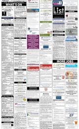 Daily Info printed sheet Fri 10/1 2014