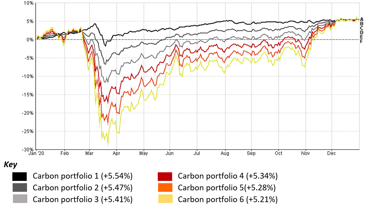 Carbon's Investment Portfolios in 2020