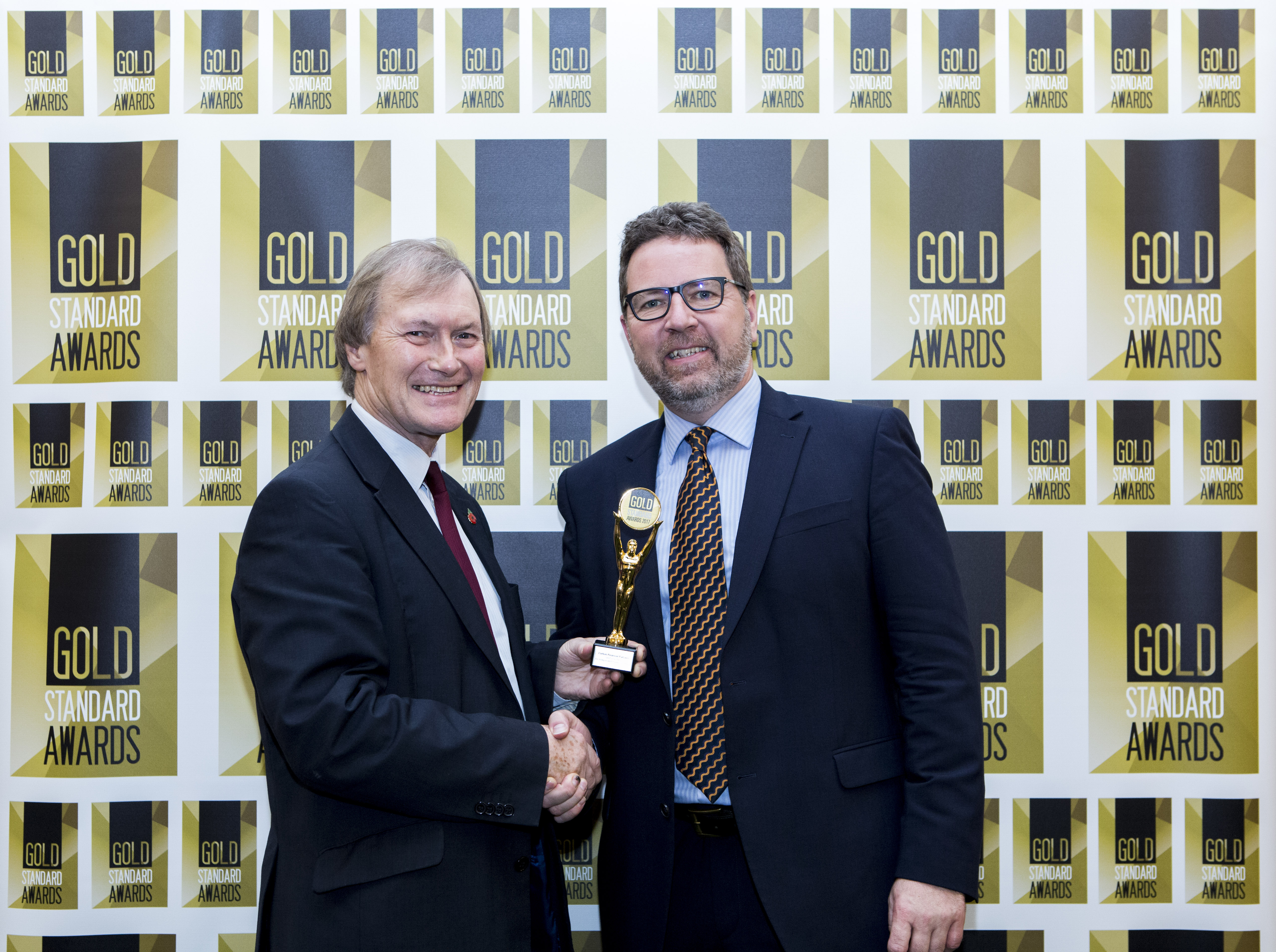 Gold Standard Awards - Carbon Wins Independent Financial Advice