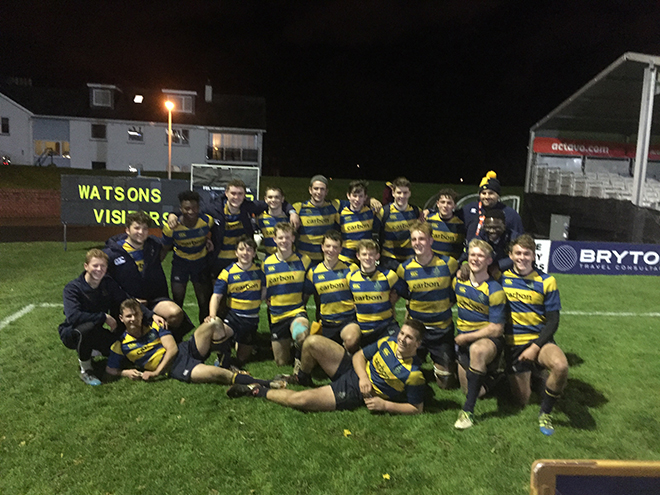 Strathallan team reach cup final
