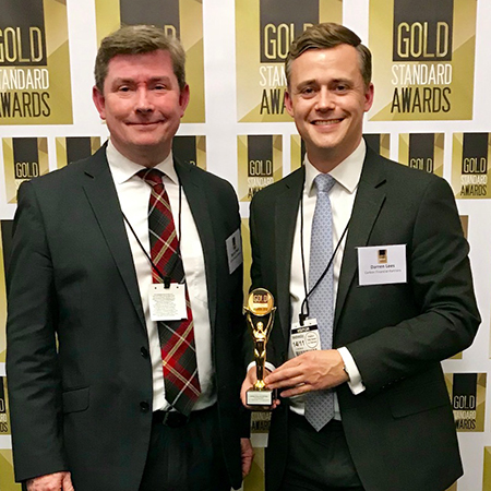 Carbon wins Gold Standard Award for Independent Financial Advice