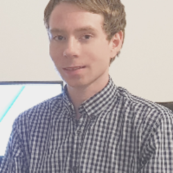 A photo of Carl Evans, a front end developer in NI