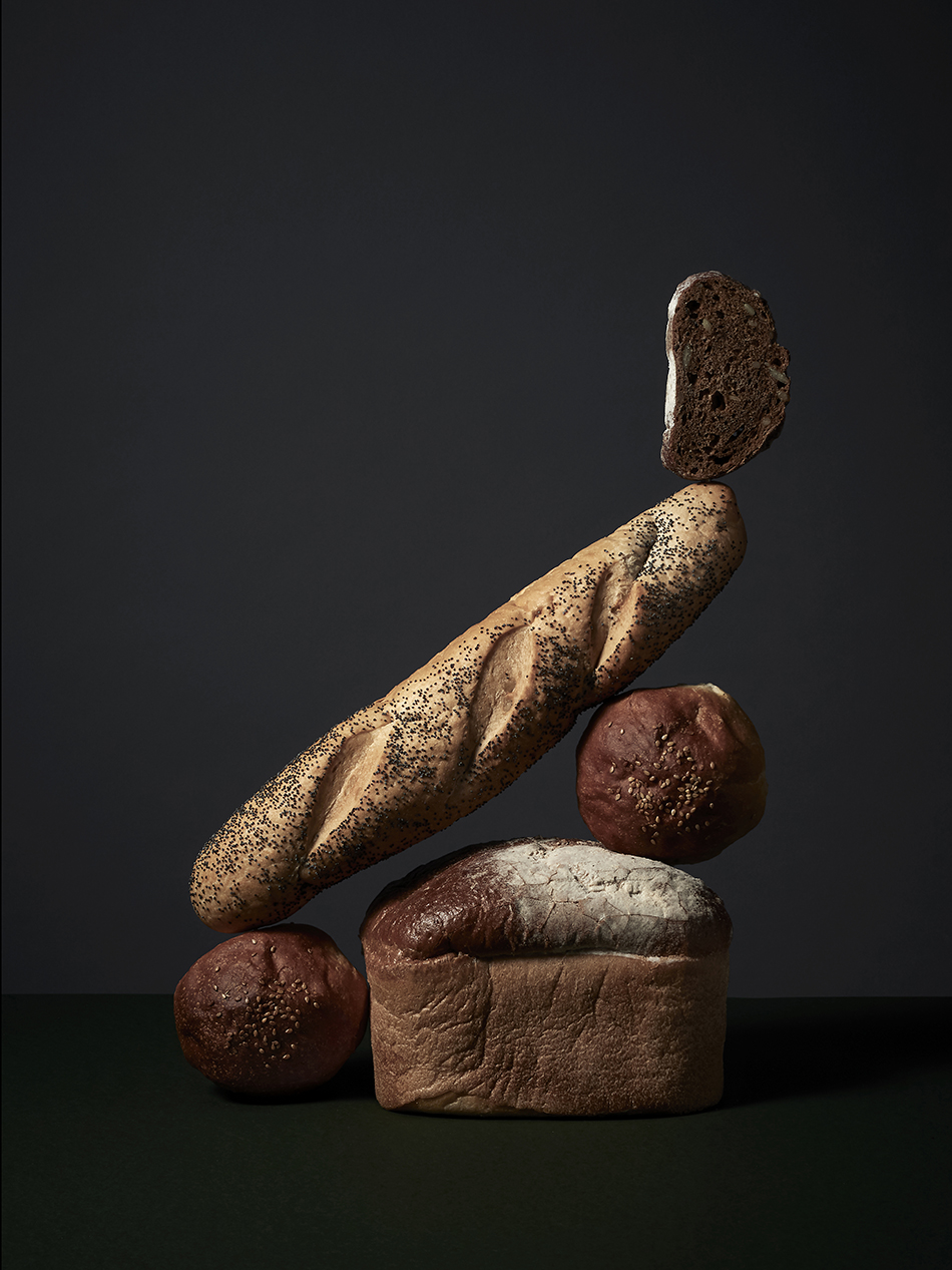 Bread Sculptures