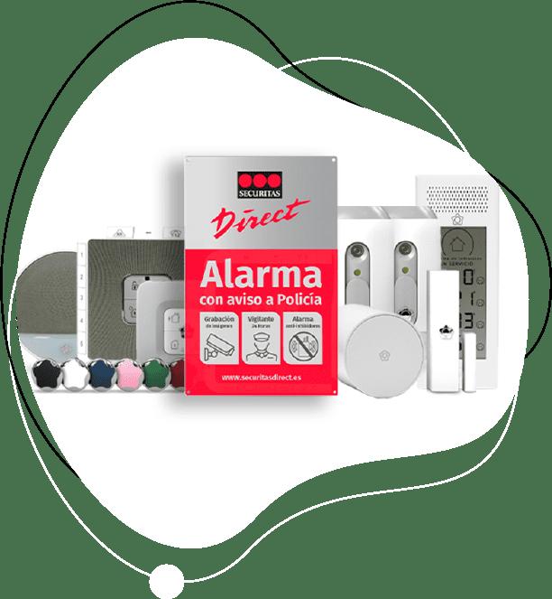 pack alarma