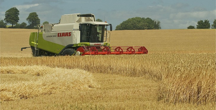 Prices paid for farmland in the UK is up by €278/ac