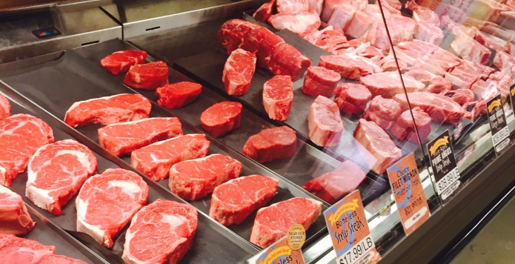 Dairy and meat prices drive world food prices down