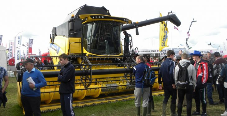 6 of the most expensive machines on show at Ploughing 2016