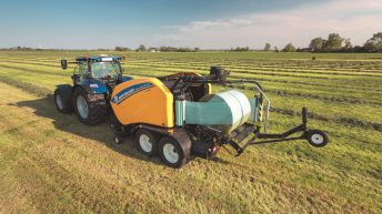 Latest New Holland balers designed for higher productivity