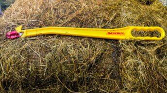 Video: Taking the hardship out of silage bales – New Hayknife hits Irish market