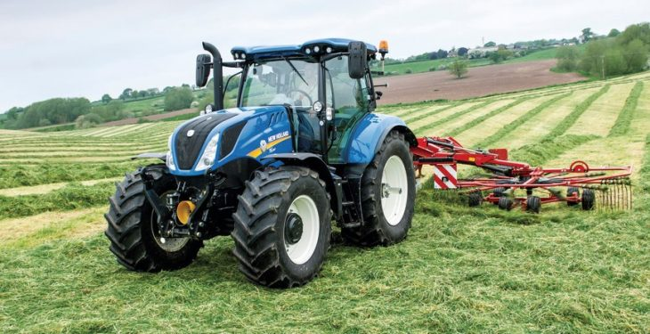 New Holland looks back on 100 years of tractor history