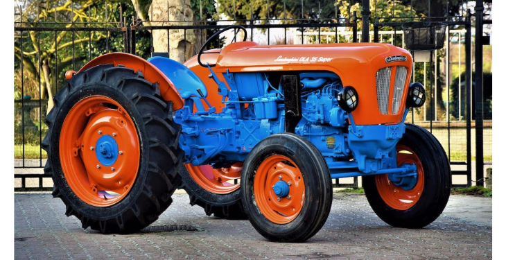 Pics: Rare Lamborghini vintage tractor worth €25,000 to go to auction