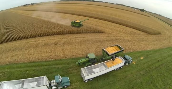 Video: From planting to harvesting, see what it's like farming in the US