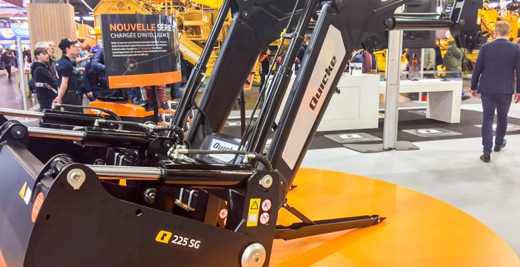 SIMA 2017: Weighing 'on the go' with Quicke's latest loader