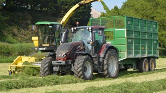 Tractor sales show improvement during April