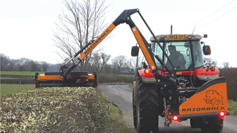 'Revolutionary' hedgecutter is completely 'on the level'