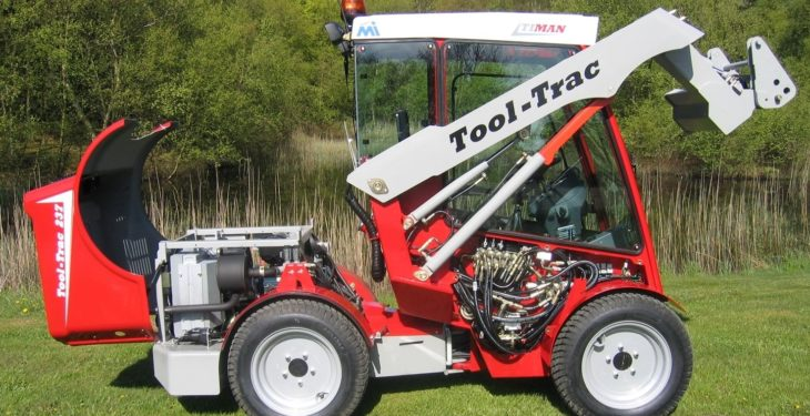 Video: Watch the 'Tool-Trac' put through its paces