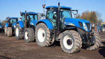 Auction report: 'Blue' highlights from huge tractor sale