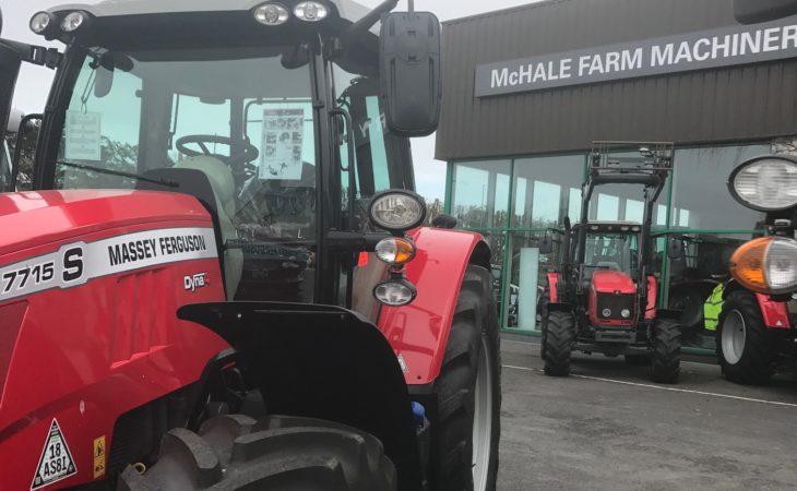 McHale Farm Machinery all prepped for Massey Ferguson open evenings