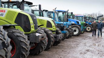 Auction report: 'Best of the rest' at monster April tractor sale