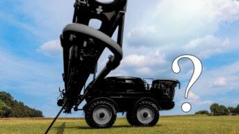 Rare sight in Ireland: Big-scale, German-built machine has landed…
