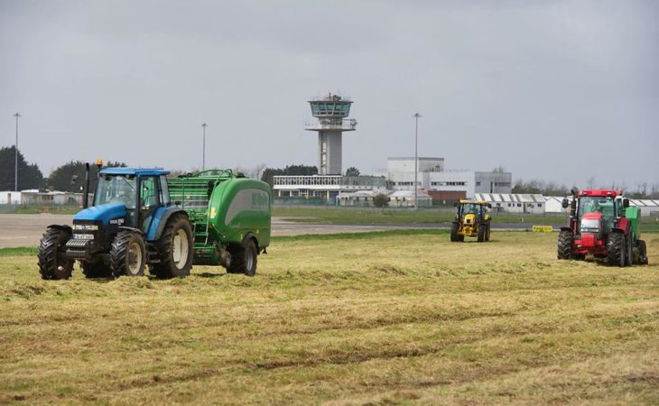 Pics: Silage operation gets underway at Shannon Airport