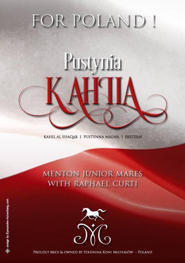 PUSTINYA KAHILA - Junior Mares - Raphael Curti