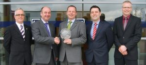 Harwin wins TTI Supplier Excellence award for 2012