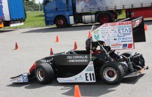 Global Formula Racing's electric car GFR15e
