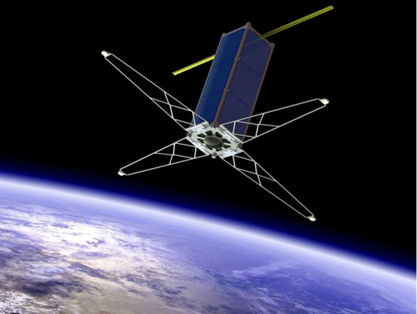 Concept image of WUSAT-3