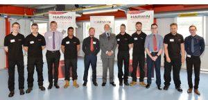HRH Prince Michael meets apprentices July 2016