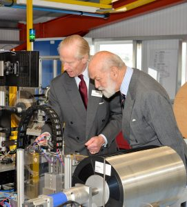 HRH Prince Michael opens new factory July 2016