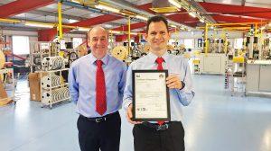 Harwin is awarded the EN9100 certification