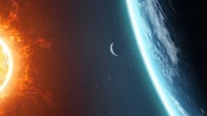 Hot versus cold in Earth's orbit