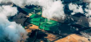 Wind Turbines across the countryside