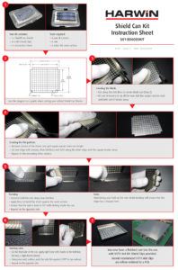 Harwin S01-806005KIT RFI Shield Can Kit