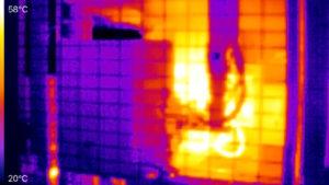 Thermal imaging photo