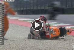 Marc Marquez caida MotoGP Mugello 2015