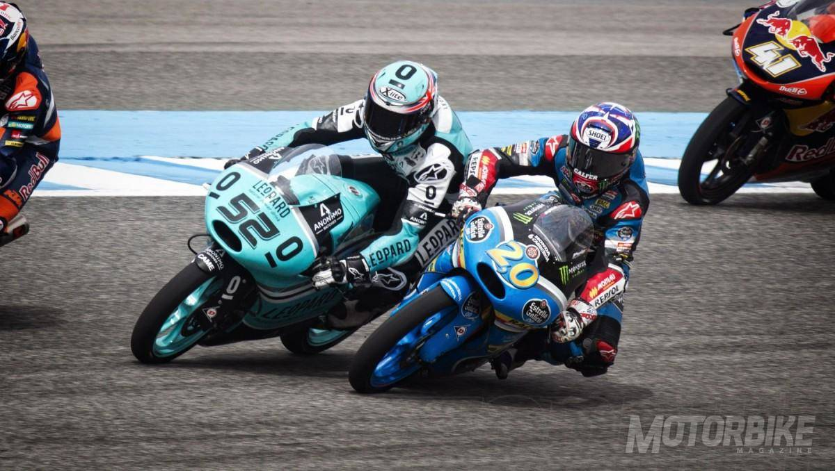 Adelantamiento de Fabio Quartararo - Jerez 2015 - © David Clares