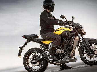 Yamaha MT07 17