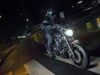 Yamaha MT07 2
