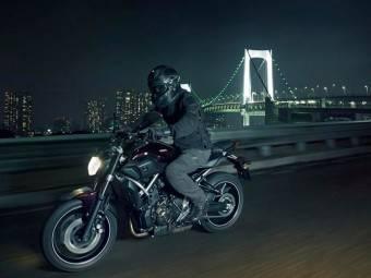 Yamaha MT07 3