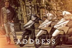 Suzuki Address - Apertura