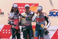 Podio 500cc Jarama 1998 Carlos Checa
