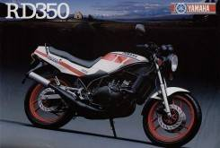 Yamaha RD 350 N YPVS 1986