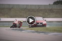 Honda Civic Type R vs. Honda CBR1000RR SP 00