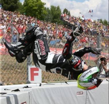 Johann Zarco backflip - Motorbike Magazine