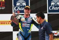 Mejor edición de sonido - ¡Una Suzuki en el podio!, por Alex Lowes